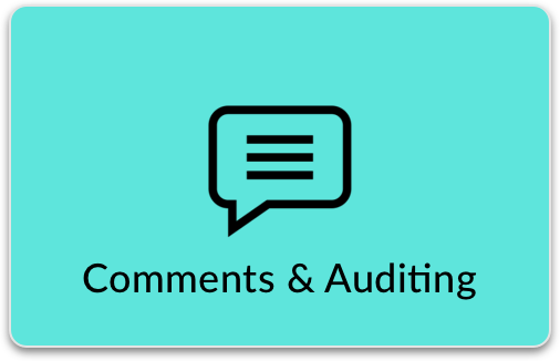 Admin Comments & Auditing